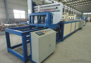 Filament winding machine manufacture the FRP horizontal winding molded
