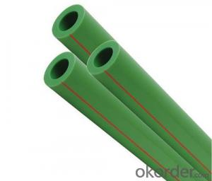 pn12.5 pn16 pn20 pn25 Green and White PPR Pipe and Pipe fittings for hot water and