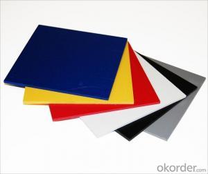 white board sintra pvc foam board / komacel pvc foam sheet