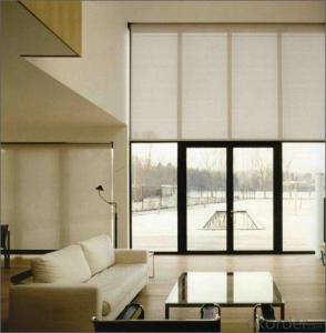 Customed roller blinds/shutters with Tubular Motors