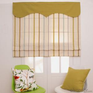 Decorative White Polyester String Curtain Vertical Blinds for Divider