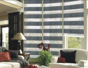 Zebra Printed Roller Blinds for Home Decor