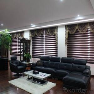 Zebra Automatic Blind with Turkish Style for Living Room