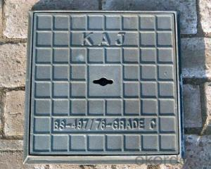 Sanitary stainless steel Ductile Iron Manhole Cover