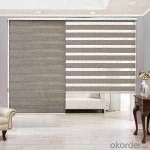 Zebra window roll out blinds / curtains