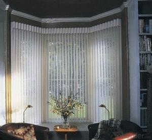 Verticail Blind with Plastic  for Window Decoration