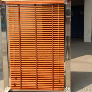 bamboo zebra roller shutter for office blackout