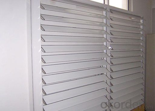 zebra shutter with waterproof for house window