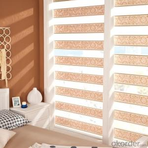 Window Curtain Zebra Blind Fabric and Components 28mm 38mm