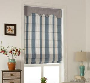 Home Ready Made Vertical Blind Fabric Rolls Jacquard Window Curtain