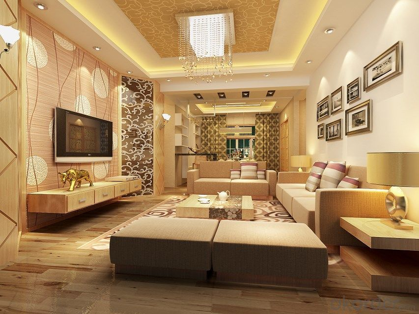 China Design Living Room 4d Wallpaper For Home Real Time Quotes Last Sale Prices Okorder Com