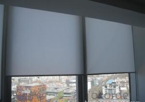 waterproof and motor fabrics perforated shower roller blinds