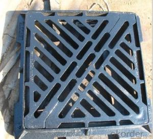Ductile Foundry Manhole Cover with ISO9001:2008 from China