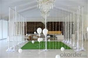 2017 wedding decoration artificial grass