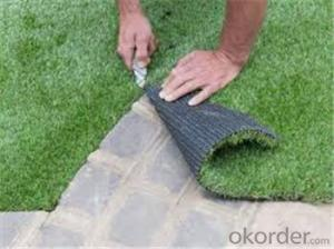 Plastic artificial grass in roll artificial turf