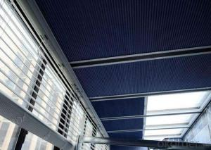 Skylight Roof Blinds with Remote Control for Shopping Mall