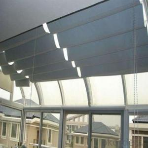 Ceiling Roller Blinds with Electric Devices for Top Floor Décor