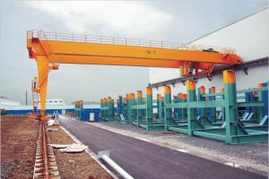 The BMH Type Semi-Portal Crane with Electric Hoist,Crane, Lifting Equipment