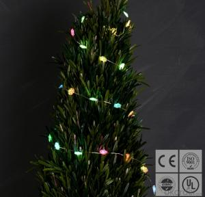 Colorful Snowflake Solar Light String for Outdoor Indoor Christmas Garden Festival Decoration