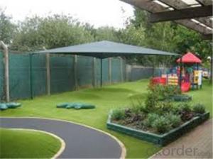 Soft feel natural pet grass / outdoor landscape artificial grass