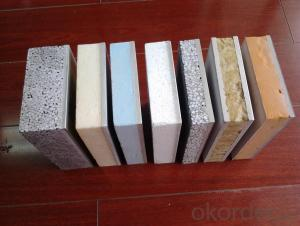 Exterior wall decoration fire insulation board