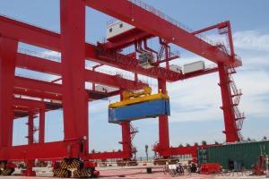 Rail-Mounted Gantry Crane,Anti-sway, Crane,RMG