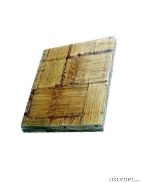 Bamboo / Wood Plywood, Board, Eco Construction Material, Interior or Exterior, High Strength