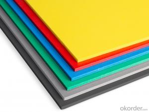 PVC foam board noise absorption anti-corrosion