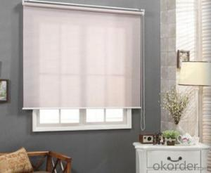 outdoor motorized roller blind and cutting machine