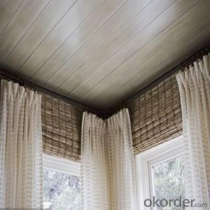 Outdoor Bamboo Double Roller Blinds for Windows