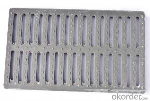 Casting Ductile Gray Iron 400x400 Manhole Cover with Heavy Duty