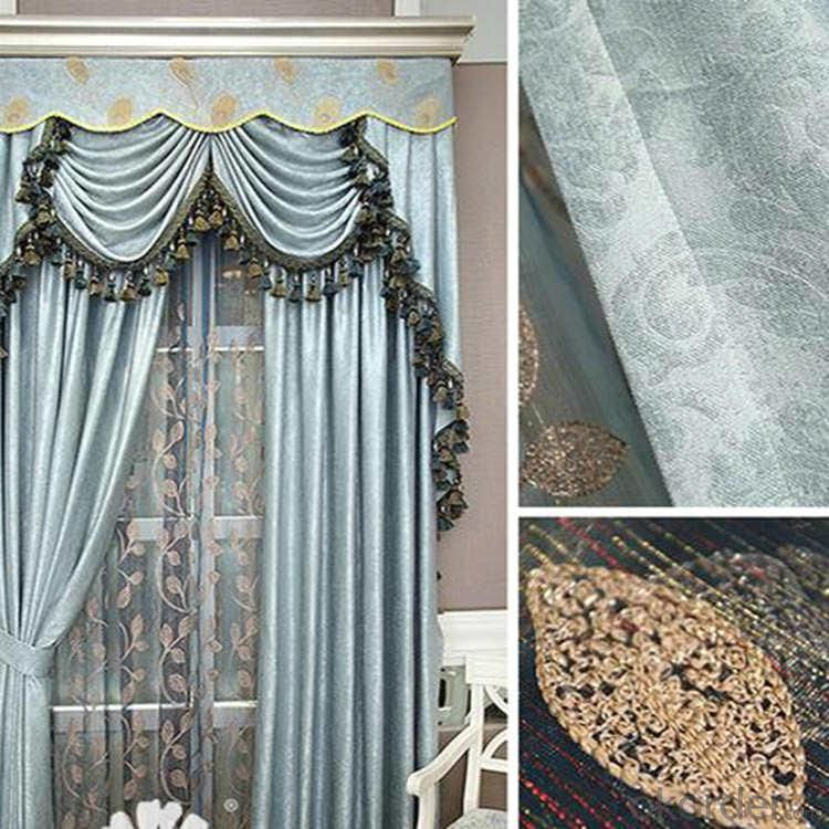 classical fabric curtain with motor for complete privacy