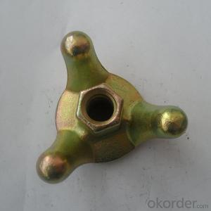Drop Forged Formwork Scaffolding Wing Nut / Tie Nut