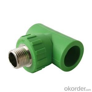 PPR Equal Tee Used in Industrial Fields with Durable Quality and Good Price
