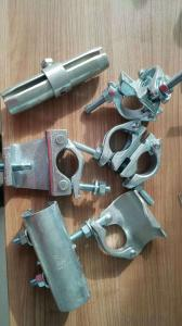 Scaffolding drop forged double couplers/clamp