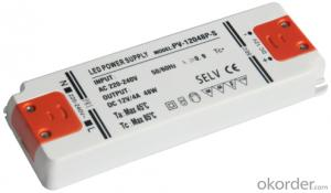 ultra-thin waterproof power supply series--output voltage-12V