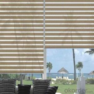 waterproof and electric roller blinds and curtains with zipper