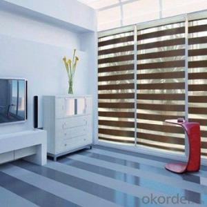 Zebra Blinds Blackout Automatic for Garage Window