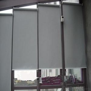 Office Curtains and Roller Blinds with Simple Design