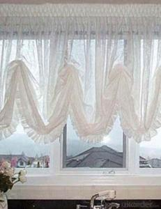 Christmas Fabric Window Decoration Shades