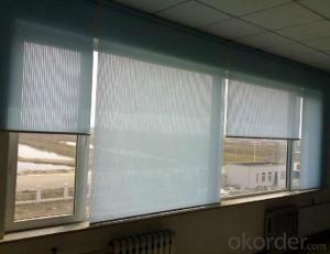 Clear Decorative Vertical PVC Outdoor Roller Blinds