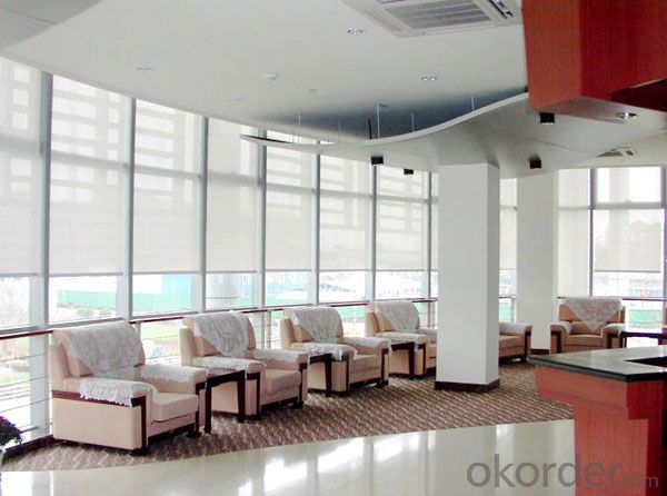 outdoor waterproof motorized roller blinds in different style