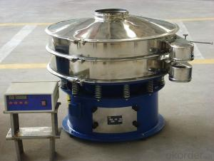 Ultrasonic vibration sieve for chemical and food