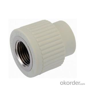 Plastic PPR Pipe And Fitting PPR SPT Pipe Fitting
