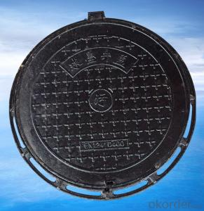 Ductile Iron Manhole Cover B125 with Competitive Price in China