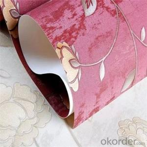 Wallpaper Woven PVC Decorative Vinyl Wallpaper for Home