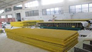 FRP pultruded grating with Light weight and high strength and high quality for sales