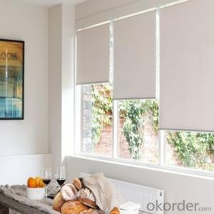 Roller Blinds with Decorative Beads Curtain for Room Blackout