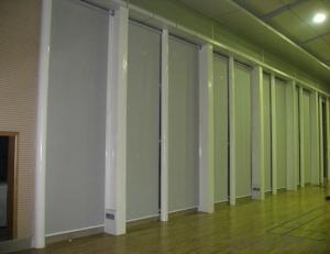 Plastic Print Double Shower Curtain Component