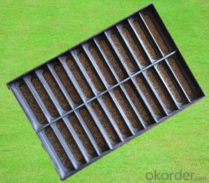 Ductile Iron Manhole Cover and Drain Grating